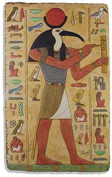 Meaning of symbols ancient Egypt The God Ibis